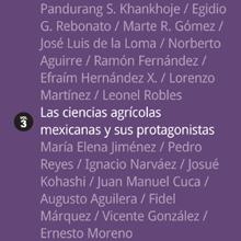 Las Ciencias Agrícolas Mexicanas y Sus Protagonistas, vol. 3
