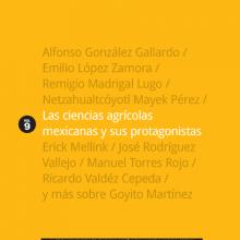 Las ciencias agrícolas mexicanas y sus protagonistas, vol. IX